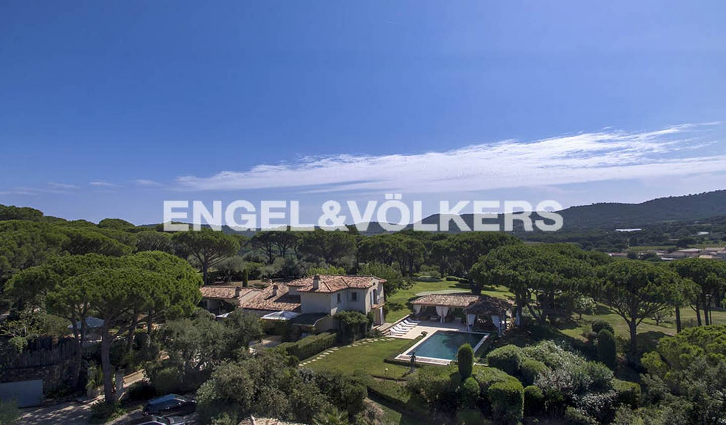 House with pool and terrace Ramatuelle