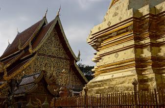 Photo: Our destination was Wat Phra That Doi Suthep, a pilgrimage temple on the shoulder of Doi Suthep mountain. Back to the Sony NEX-7.