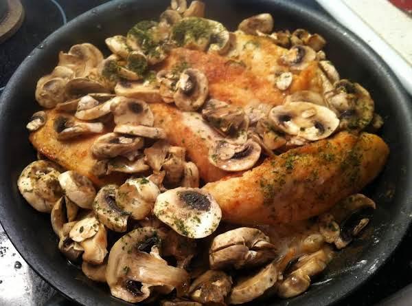 Mushroom Lemon Chicken Recipe