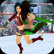 Superstar Girl Wrestling Ring Fight Mania 2019