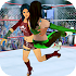 Superstar Girl Wrestling Ring Fight Mania 2019
