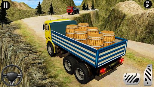 3D Euro Truck Driving Simulator - Real Cargo Game screenshots 4