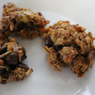 Healthy Banana Oat Breakfast Cookies.