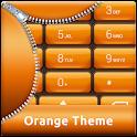 Orange Dialer Theme icon