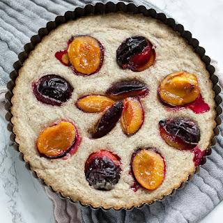 Almond Plum Cake.