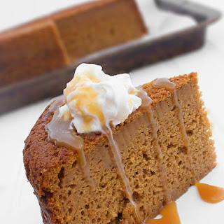 Slow Cooker Caramel Pumpkin Cake