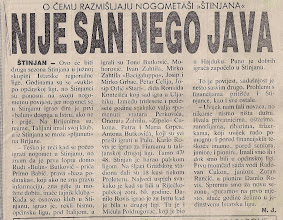 Photo: Glas Istre 2.9.1993. Pred drugu sezonu Južne skupine IRL (Istarska regionalna liga)