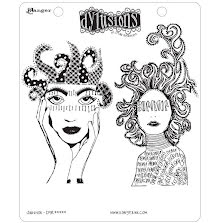 Dylusions Cling Stamps 8.5X7 - Survivor