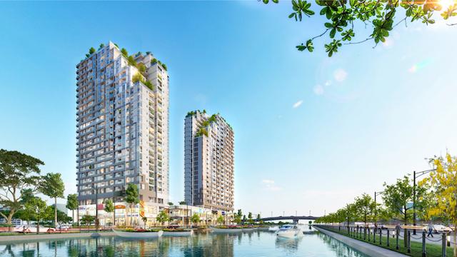 Mặt bằng chung cư D Aqua được nhiều nhà đầu tư đánh giá cao