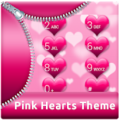 Pink Hearts for ExDialer