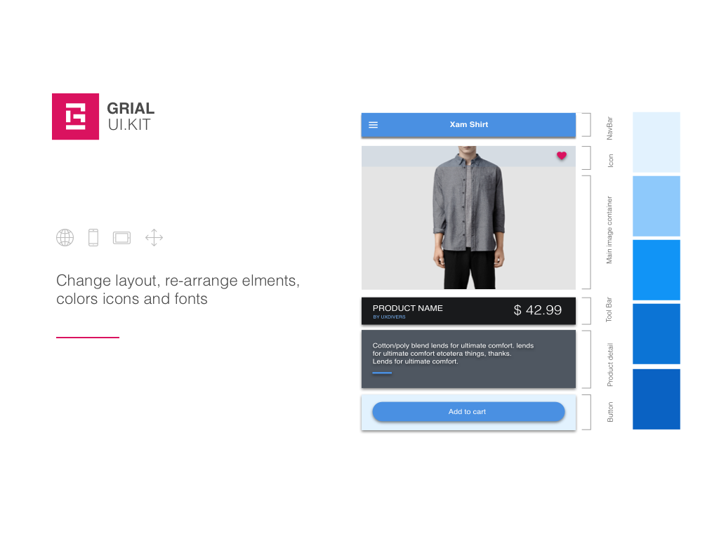 Grial UIKit- screenshot