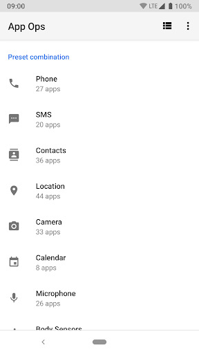 App Ops - Permission manager  screenshots 3