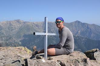 Photo: na vrchole Monte d´Oro (2 389 m)