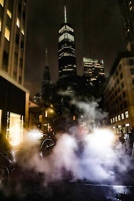 Nebbia a New York  di Jhonninaphoto