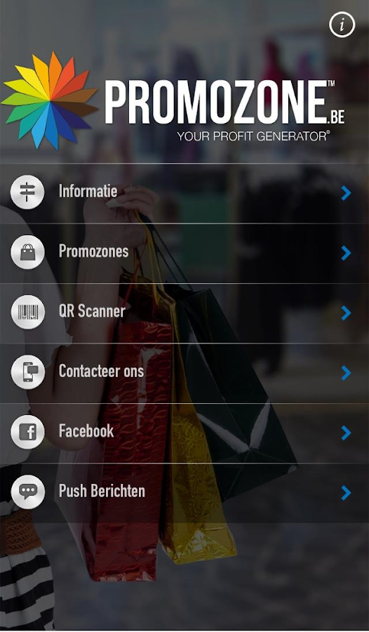 Promozone- screenshot