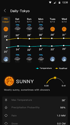 Live Weather Forecast - Accurate weather & Radar  screenshots 7