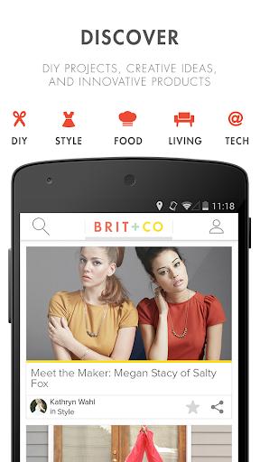 Brit + Co 2.0.4 screenshots 1