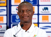 Kwesi Appiah, Coach, Ghana during the Ghana press conference from Nelson Mandela Bay Stadium on February 01, 2013 in Port Elizabeth, South Africa.