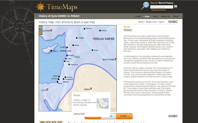 Timemaps world history atlas chrome web store overview the most comprehensive world history gumiabroncs Images