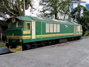 Photo: Year 2 Day 113 - Old Train in Taiping