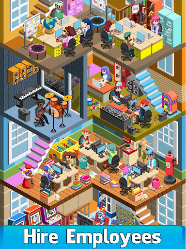 Code Triche Video Game Tycoon - Idle Clicker & Tap Inc Game APK MOD screenshots 2