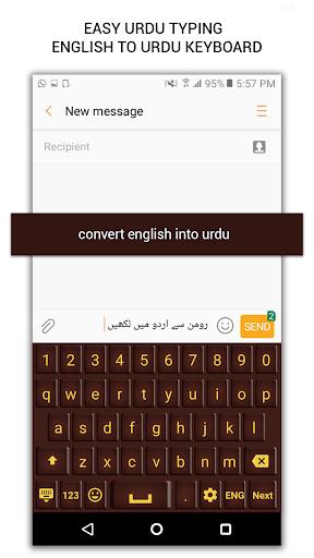 Easy Urdu Typing - English to urdu Keyboard ss2