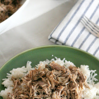 Slow Cooker Garlic Balsamic Pork Roast.
