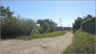 Photo: Pod si strada Panait Cerna - peste Str. Funicularului si Paraul Sandulesti - vedere de pe Str. Cheii - 2017.07.18