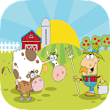 Kids Puzzle Farms icon
