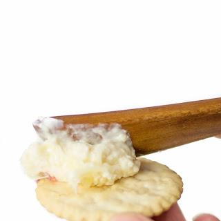 Horseradish Cracker Dip with Cream Cheese.
