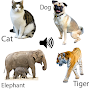 Animal sounds for kids APK icon