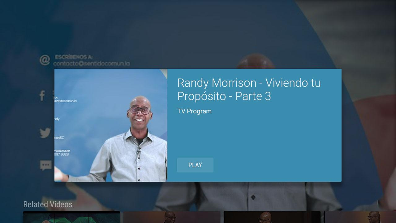 Randy Morrison- screenshot