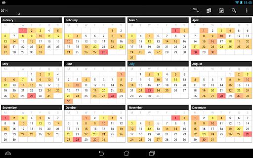 Business Calendar Beta screenshot 12