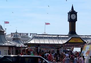 Photo: Brighton pier, like the sign says