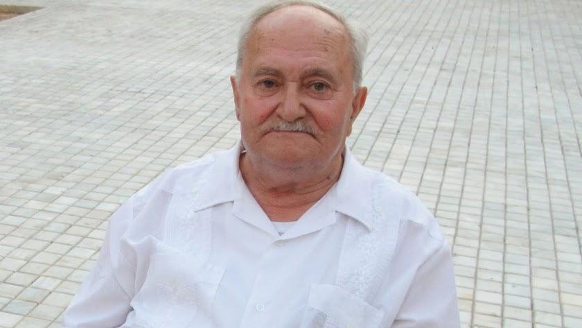 Francisco Alcaraz, en su visita a Almería en el verano de 2015.