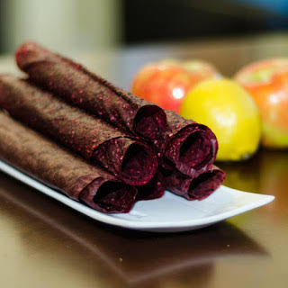 Mixed Berry Fruit Leather.