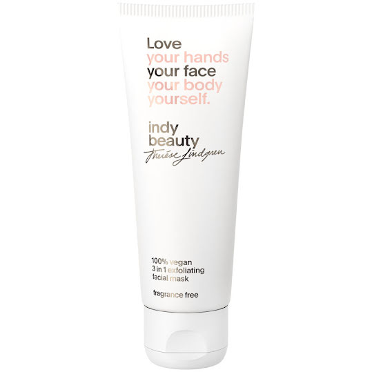 Indy Beauty 3 in 1 Exfoliating Facial Mask 75 ml