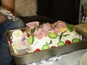 Photo: Swedish bread cake.