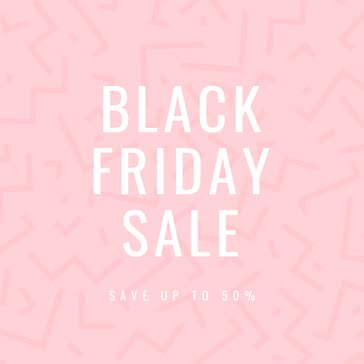 Black Friday Sale - Instagram Post Template