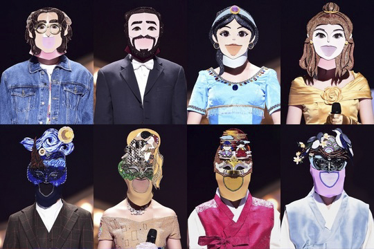 king of masked singer main vocal idols 2