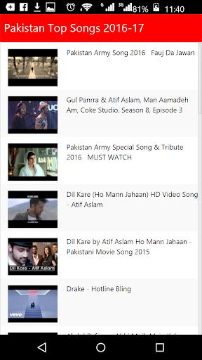 Pakistan Top Songs