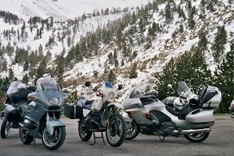 Photo: R100GS BMW meeting Pyrenees