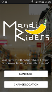 Mandi Riders: Grocery Delivery screenshot 0
