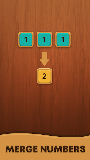 Mergezilla - Number Puzzle apktram screenshots 4