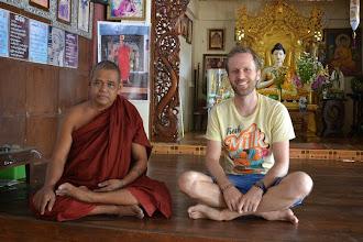 Photo: Our friend monk