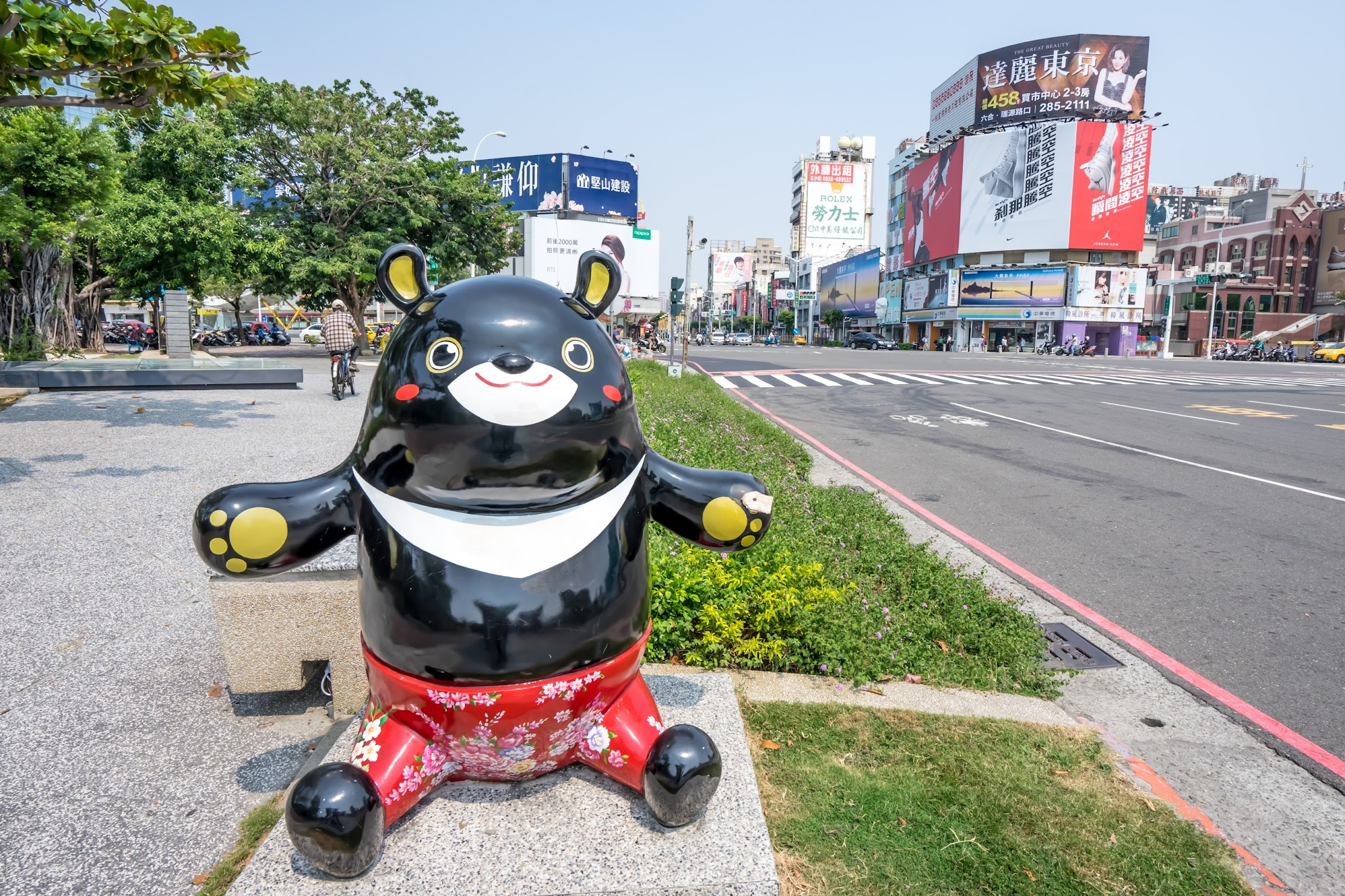 Kaohsiung bear Hero