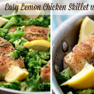 Lemon Chicken Skillet
