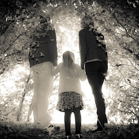The Future by Richard States - Black & White Portraits & People ( b&w, nature, black and white, family,  )