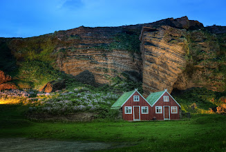 Photo: Here's an amazing little home near Vik, Iceland.