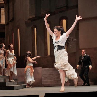LA Opera scores in first half of Bizet double-header